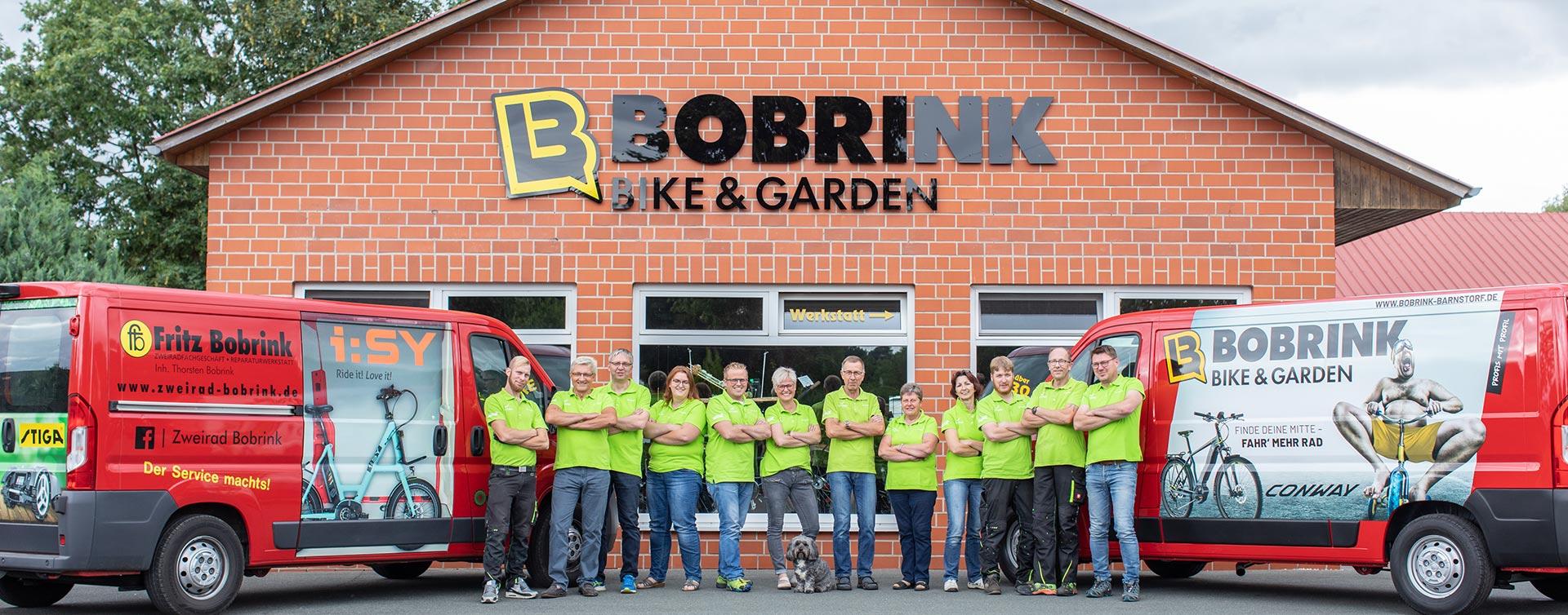 Bike & Garden Bobrink - Wir stellen uns und unser Unternehmen vor